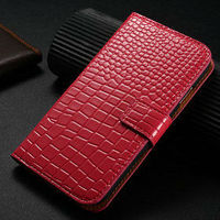 wallet case for i9500 , leather cover for samsung s4, Hot selling wallet croco leather case for samsung galaxy s4 i9500
