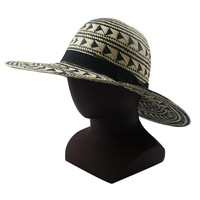 Wholesale Sun material paper Custom foldable Straw Hat for sale