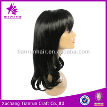 Beautiful new style hot sale cheaper synthetic wig silky straight wig