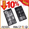 Renjia silicone ice cube sphere shape box tray wholesale ice tray maker
