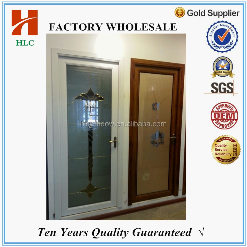 aluminium frame models of doors for bathroom