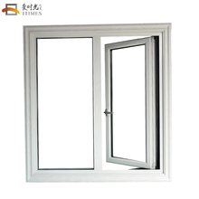 Tempered glass aluminium window supplier guangzhou sound proof window sizes