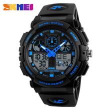 Best selling products SKMEI 1270 relojes baratos analog digital mens watch sport chrono wrist watches