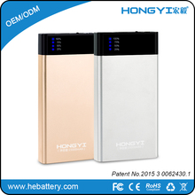 portable power bank mobile charger with 18650 battery charger phone power bank HE-738M[HONGYI]