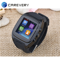 Android wifi 3g smart watch mobile phone with sim card slot/ dual core android watch phone
