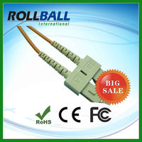 SM/MM outdoor optical fiber cat5e utp patch cord