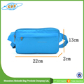 2015 Made In China High Quality Factory Price Lightweight Blue Waist Bag