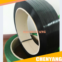 Black and Green polyethylene terephthalate packing strapping