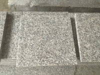 G603 grey granite tiles 40x40x3cm flamed surface