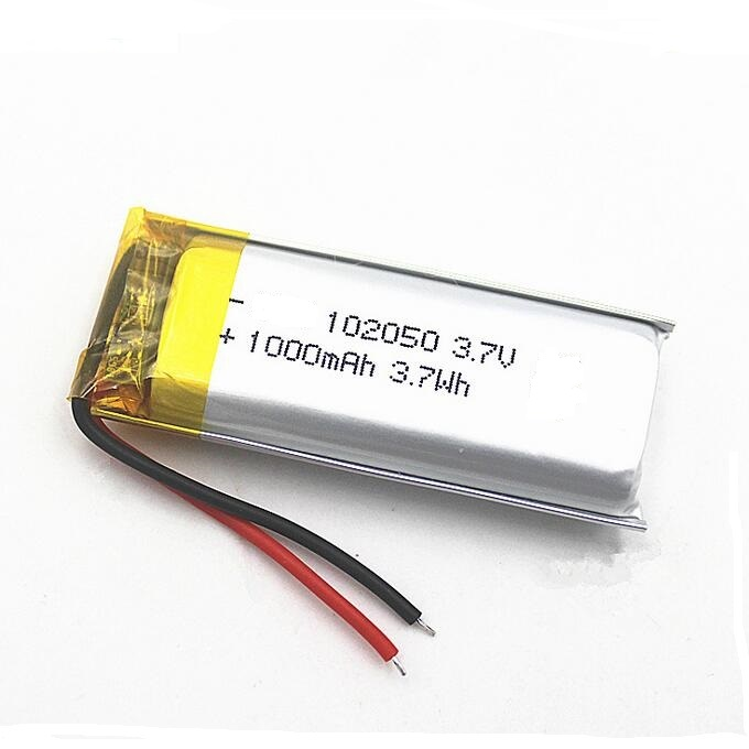 Beauty Instrument Battery 102050 Lithium Polymer  Battery 1000mAh Mosquito Lamp Battery 3.7V
