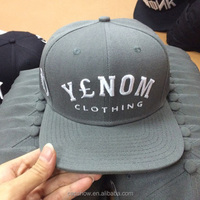 Fashion high quality custom different logo embroidery baseball cap