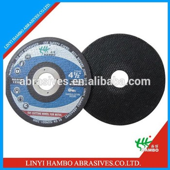 resin boned cutting disc for stainless steel in china