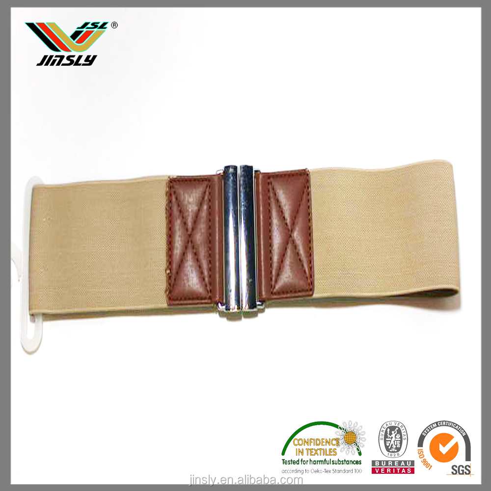 High quality fashion fabric women elastic belt