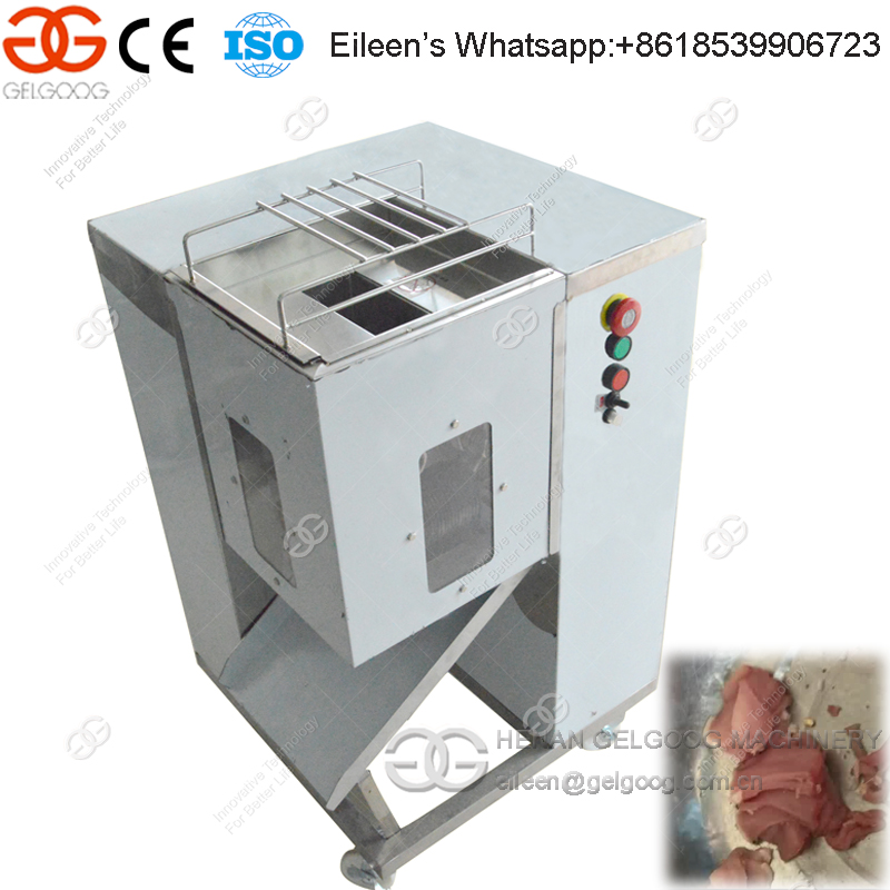 Cooked Meat Beef Chicken Strip Cutting Machine
