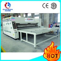hot sale semi auto printer slotter die cutting machine