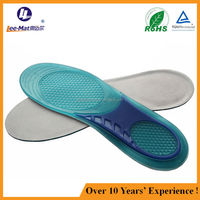 2015 hot sale gel massage insole for sports soft gel insole