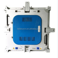 P4 indoor die casting rental high brightness led display board