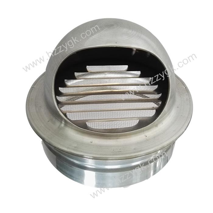 Crimp Aluminum Round Ventlation Ceiling Air Vent Cap