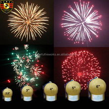 1.3g display Cylinder shell fireworks