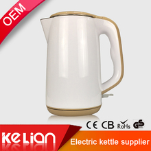 1.5L small cordless enamel stainless steel electric water enamel kettle