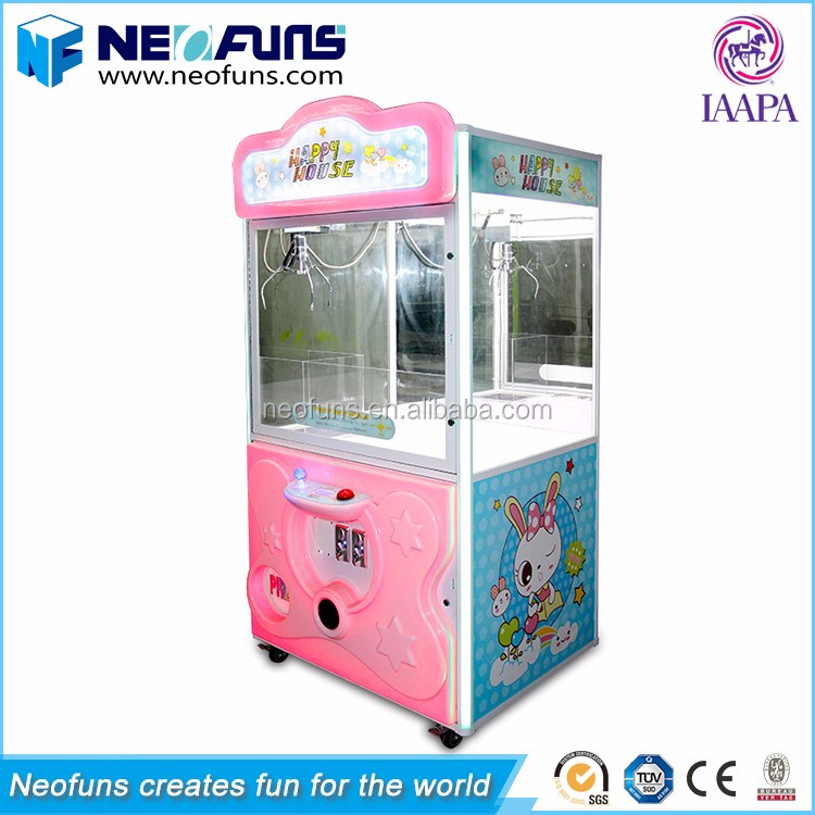 2017 Happy House Claw Machine Plush Toys,Toy Crane Claw Machine For Sale Malaysia