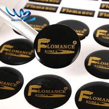 custom logo adhesive die cut epoxy stickers,epoxy resin dome 3d gel sticker printing company