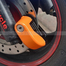 Bike Disc Brake Alarm Lock Bicycle Fixed Anti Theft Security Lock Electric Bike Lock