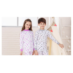Different Colors small moq 100%cotton kids soft pajamas Factory outlet