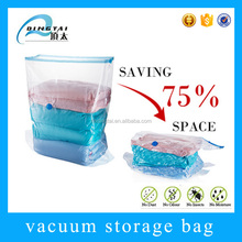 Waterproof wholesale clothes storage vacuum cube plastic bag