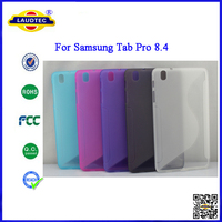 100% confirmed Soft Skin S Line Gel Cover TPU Case for Samsung Galaxy Tab Pro 8.4
