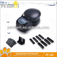 Automatic Fish Feeder With 4 Times And Digital Clock