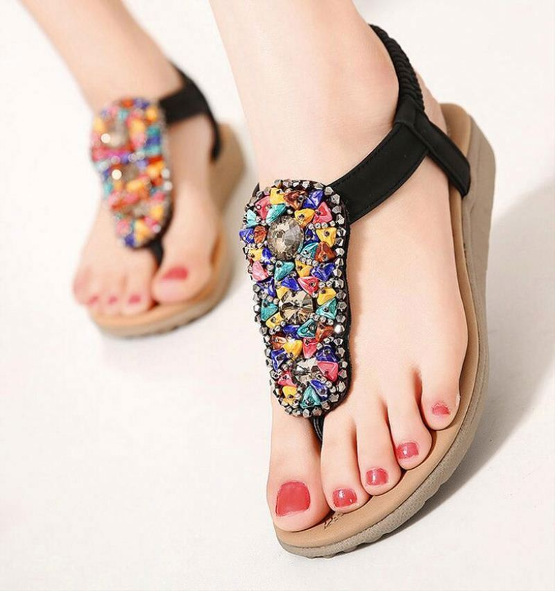 2016 Fashion New Women Summer Shoes Sexy Ladies Sandals Leather Womans Flip Flops