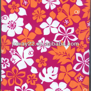 Polyester transfer printed Fabric