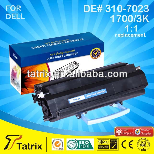For Dell 1700, Compatible 1700 Toner Cartridge for Dell 1700 , With 2 Years Warranty.