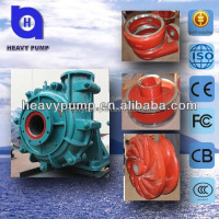 river sand pumping machine sand mining slurry pump with rubber impeller