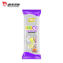 Various Sizes Custom Printed Disposable Plastic Snack Packaging Bag