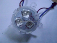 led pixel module light 30mm 3leds with smd5050 rgb ws2801