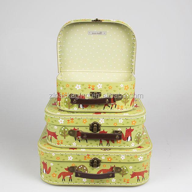 Vintage Cardboard Suitcase Centerpiece - Buy Suitcase Centerpiece ...