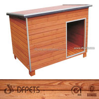 DFPets DFD007 Durable Wood Animal Doghouse