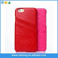 Latest product top quality detachable leather case for iphone 6 wholesale price