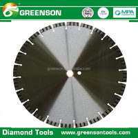 China quality concrete cutting tools diamond road saw cutter blade