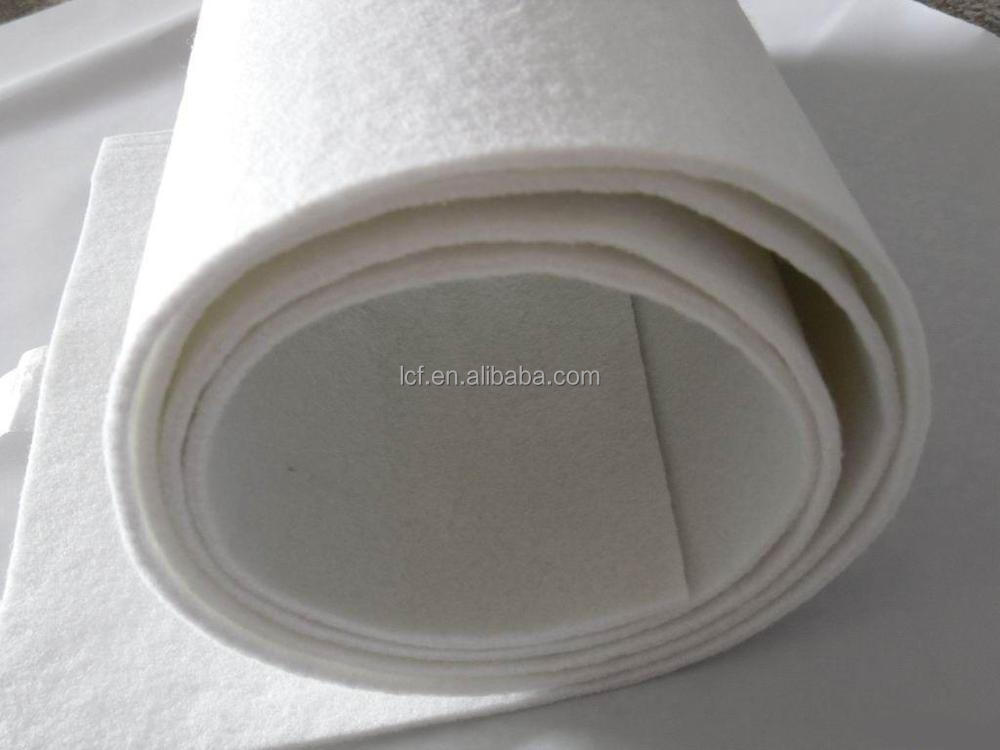 High quality non woven needle punched industrial filter felt for sewing filter bag