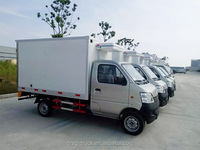 refrigerated trucks mainly for fruit, seafood, milk and other perishable, perishable, easy to ferment long-distance transport of