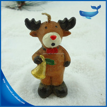 cute creative new Christmas decoration deer shape candle