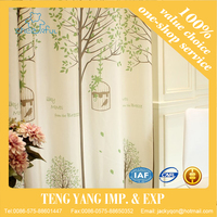 New European drapes insulated blackout Door Window Curtains for Living Room and Bedroom