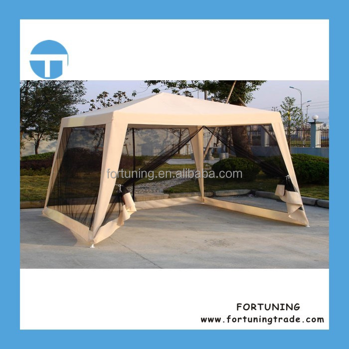 F OEM/ODM accepted 3X3M Polyester mosquito net canopy pop up screen house