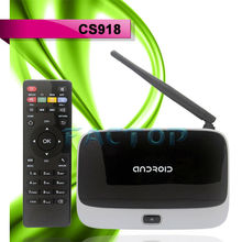 CS918 Quad Core Android 4.2.2 RK3188 Mini PC smart TV BOX Player 8GB XBMC