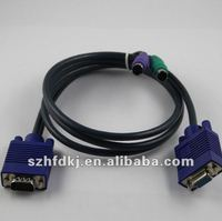 Mouse/Keyboard cable /PS2 cable,kvm cable,VGA CABLE