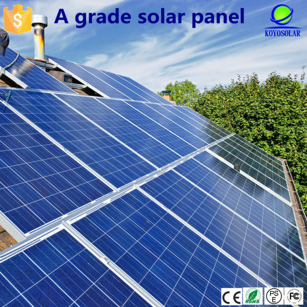 Guangzhou high quality solar cells mono 250W solar panel