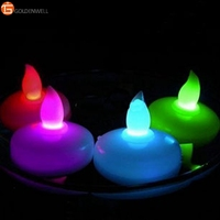 Value Pack-12 Floating Battery Operated Color Changing Tealights